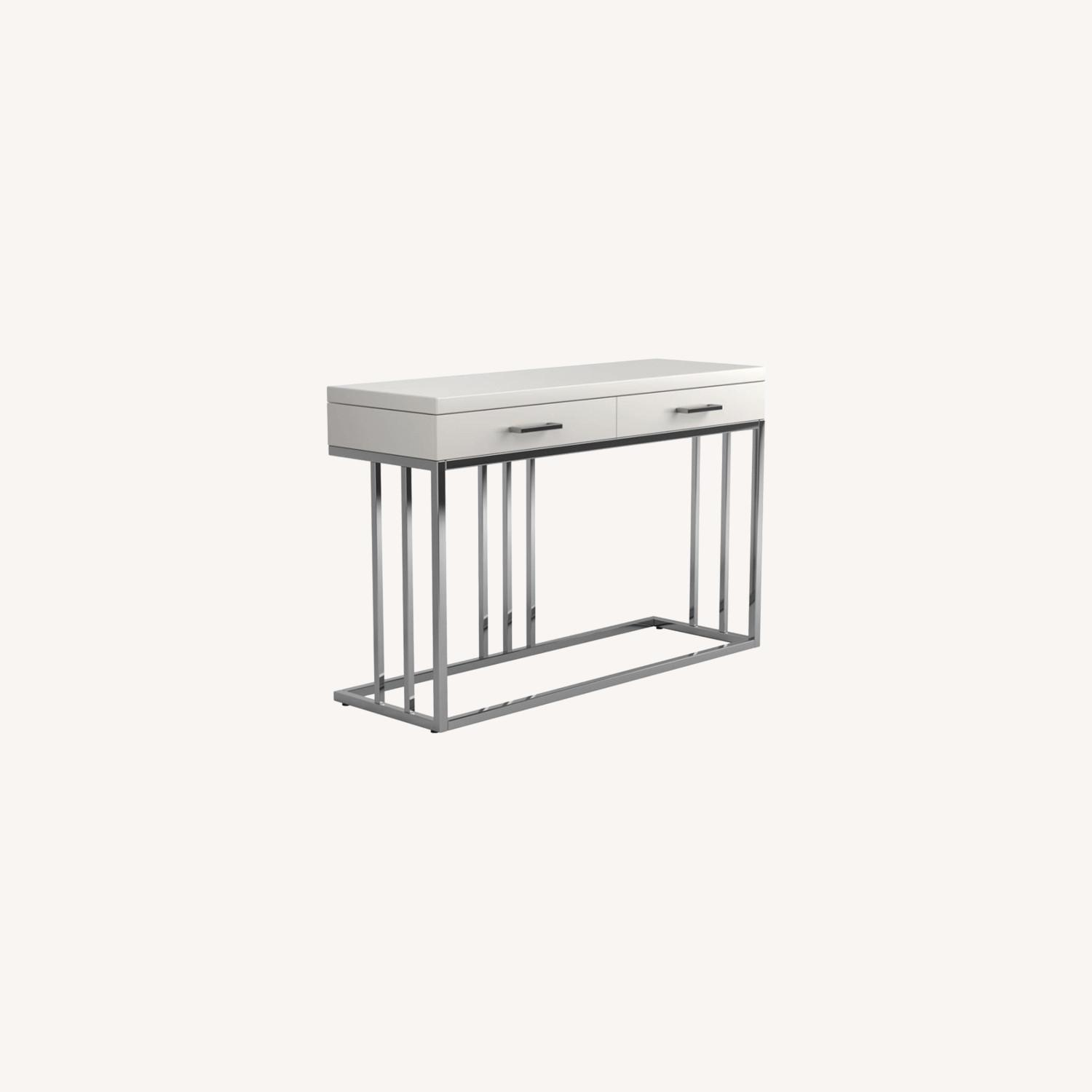 Sofa Table In Modern Linear Design - image-6