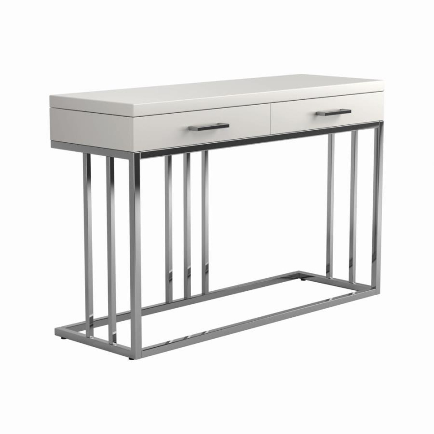 Sofa Table In Modern Linear Design - image-0