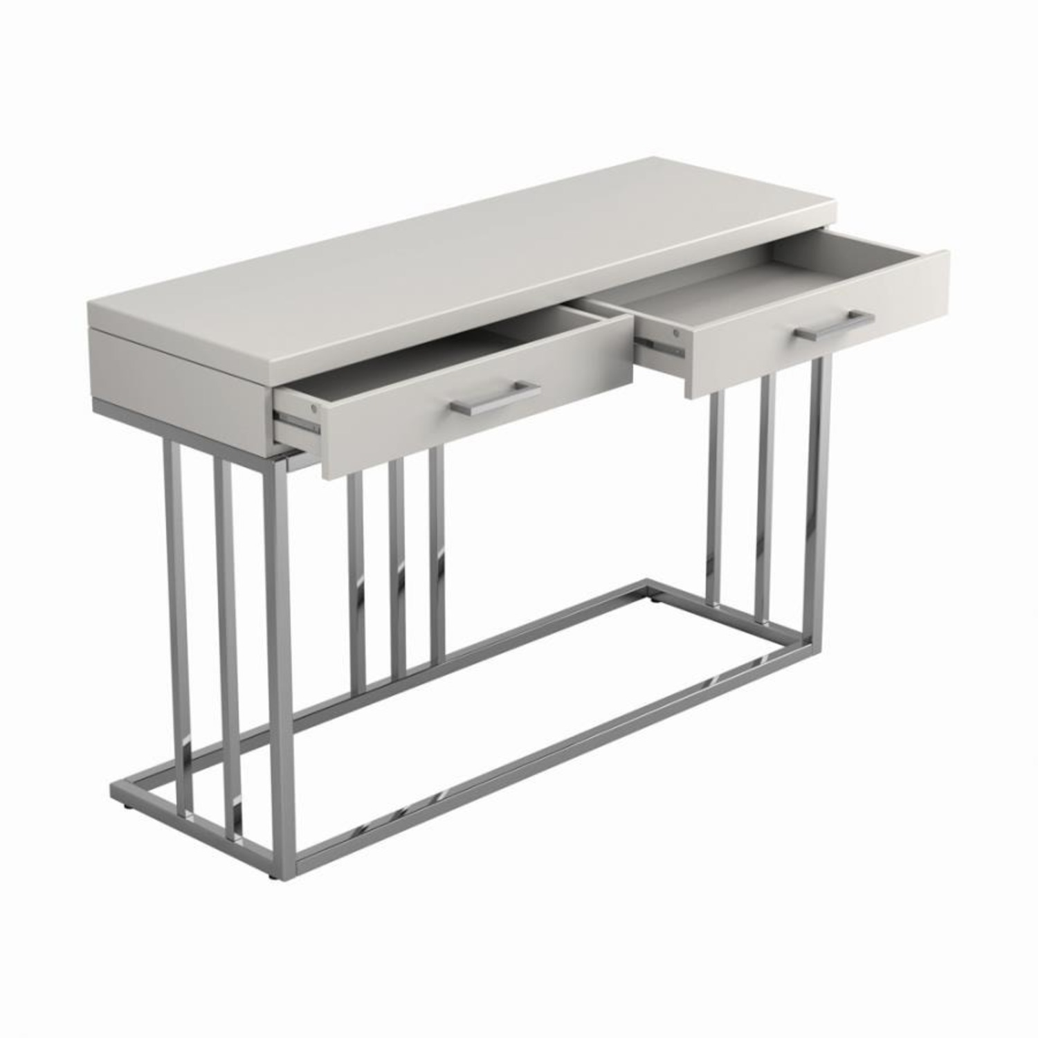 Sofa Table In Modern Linear Design - image-1