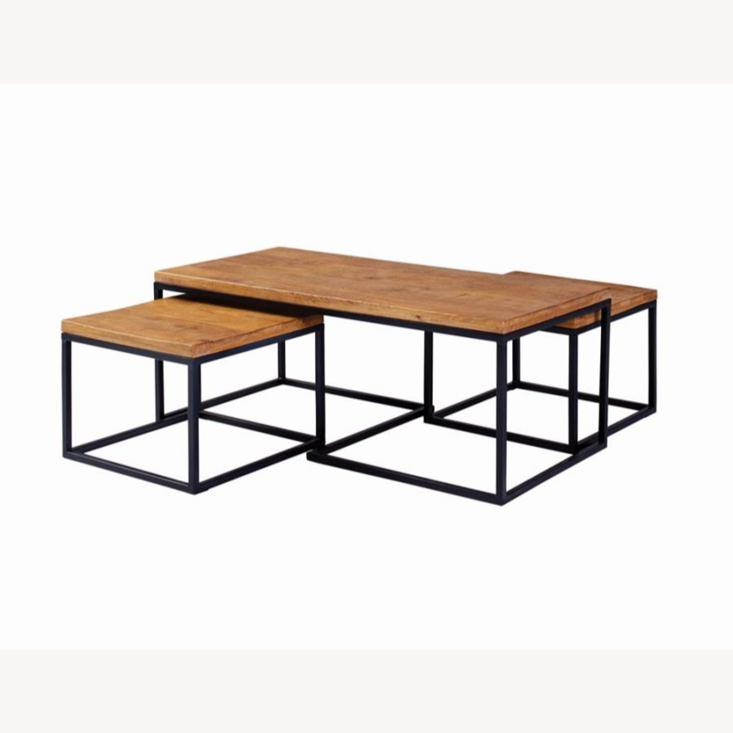 Coffee Table In Natural Brown Finish - image-1
