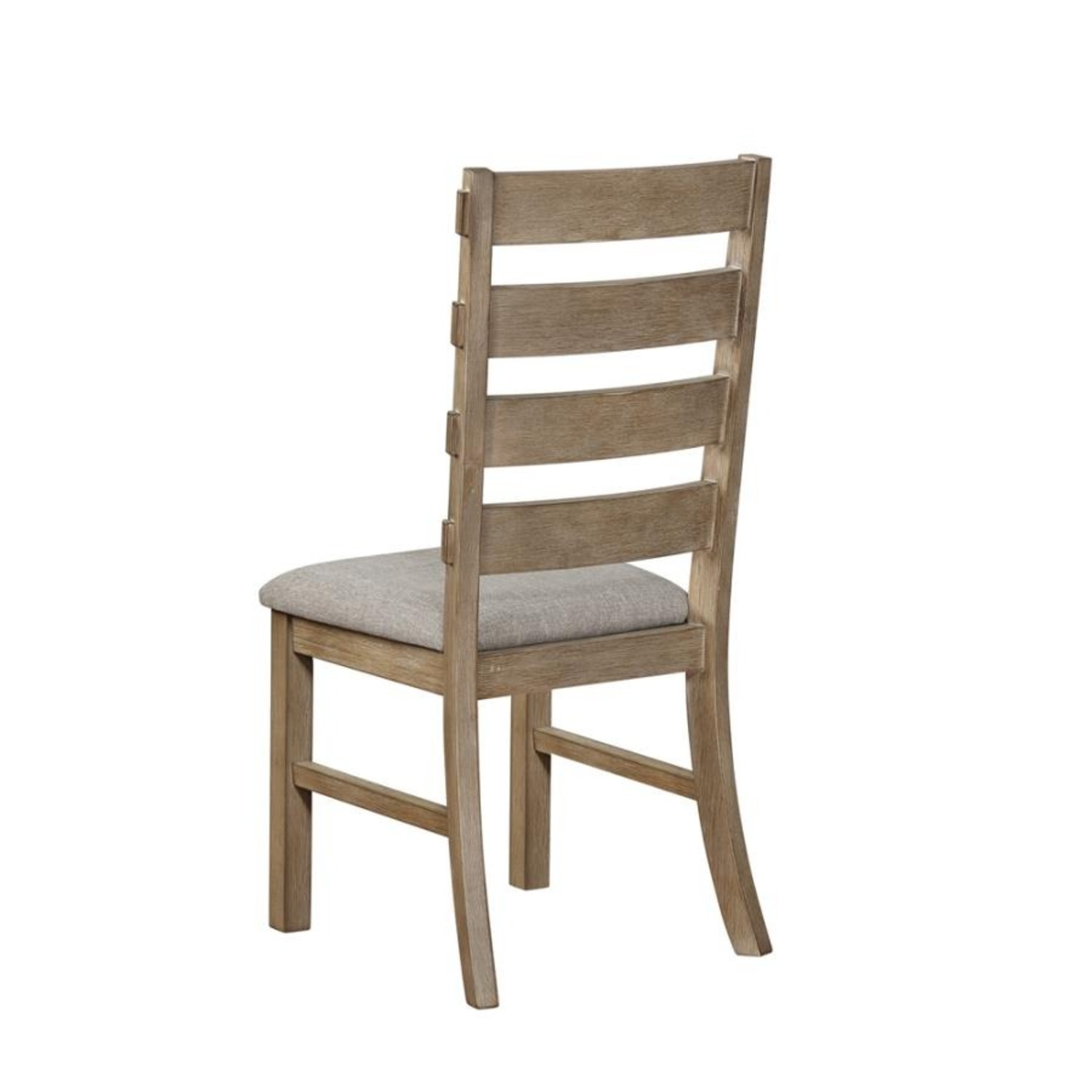 Rustic Dining Chair In Vineyard Oak Finish - image-3
