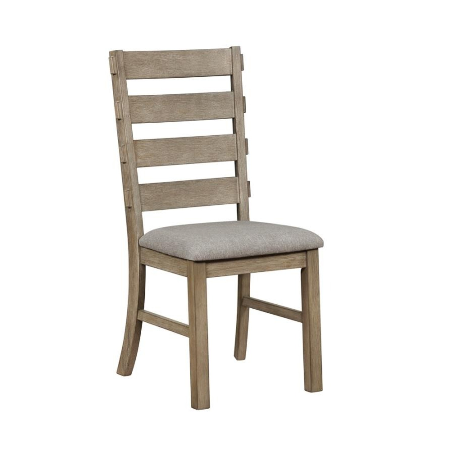 Rustic Dining Chair In Vineyard Oak Finish - image-0