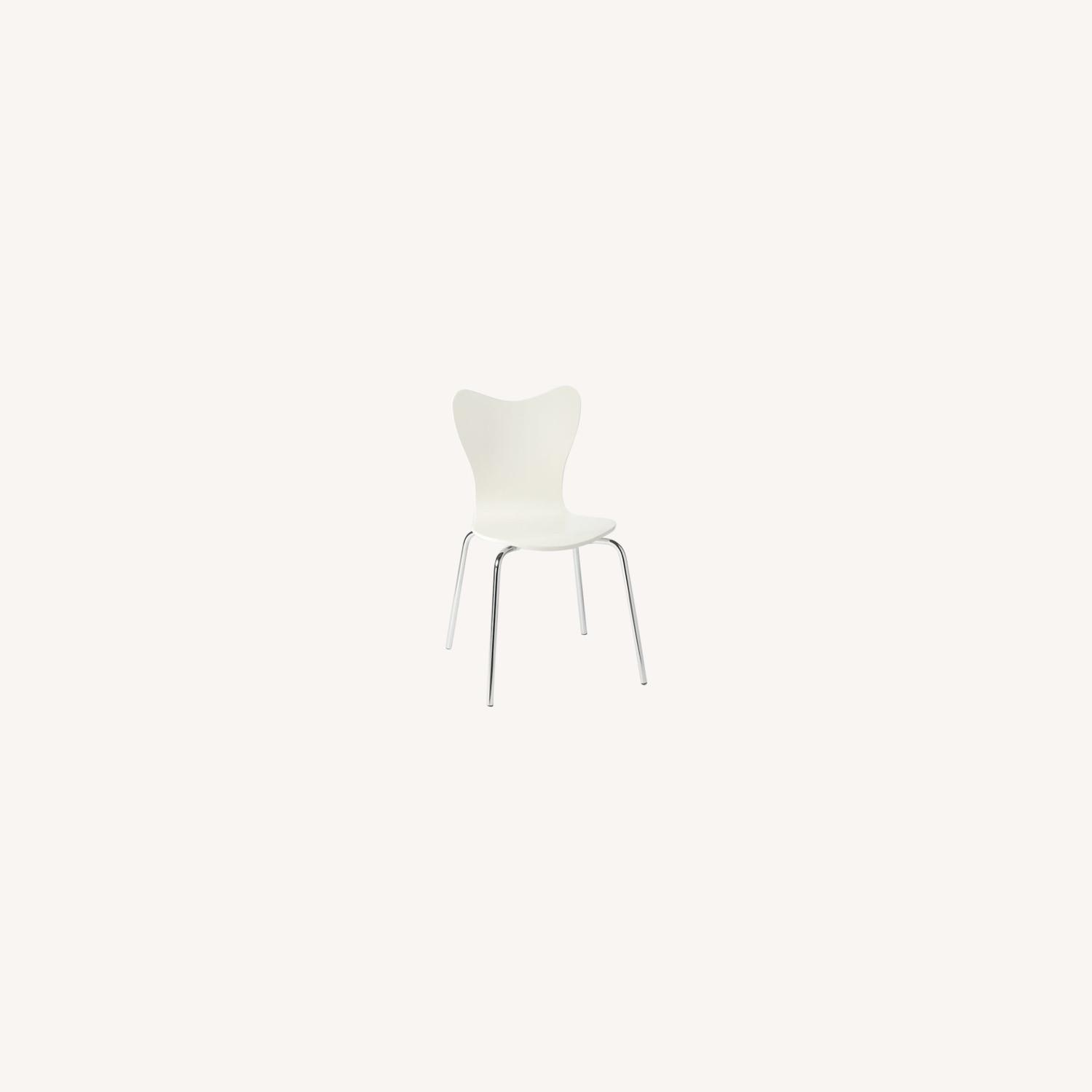 West Elm Scoop Back Dining Chairs - image-0