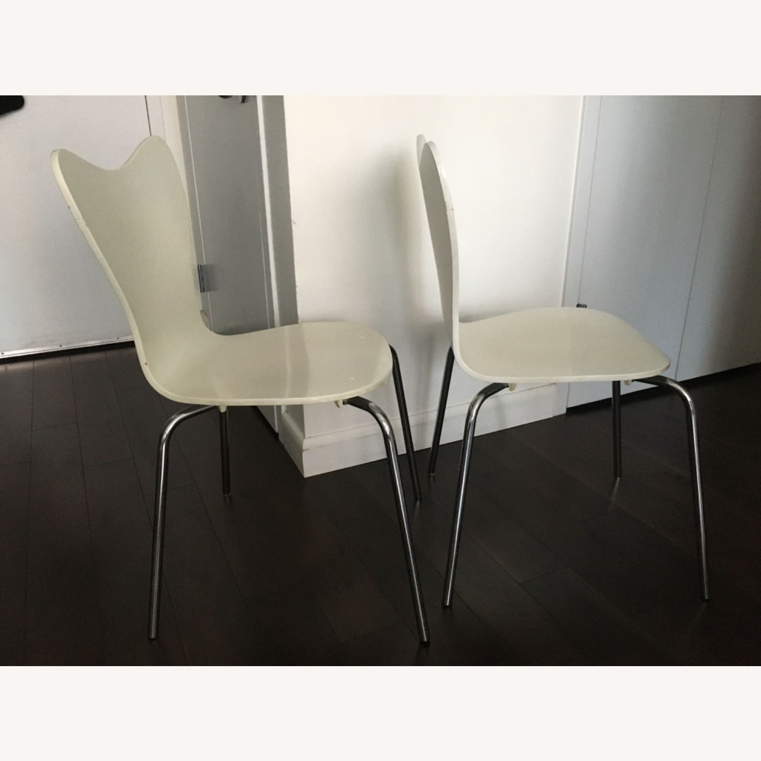 West Elm Scoop Back Dining Chairs - image-2
