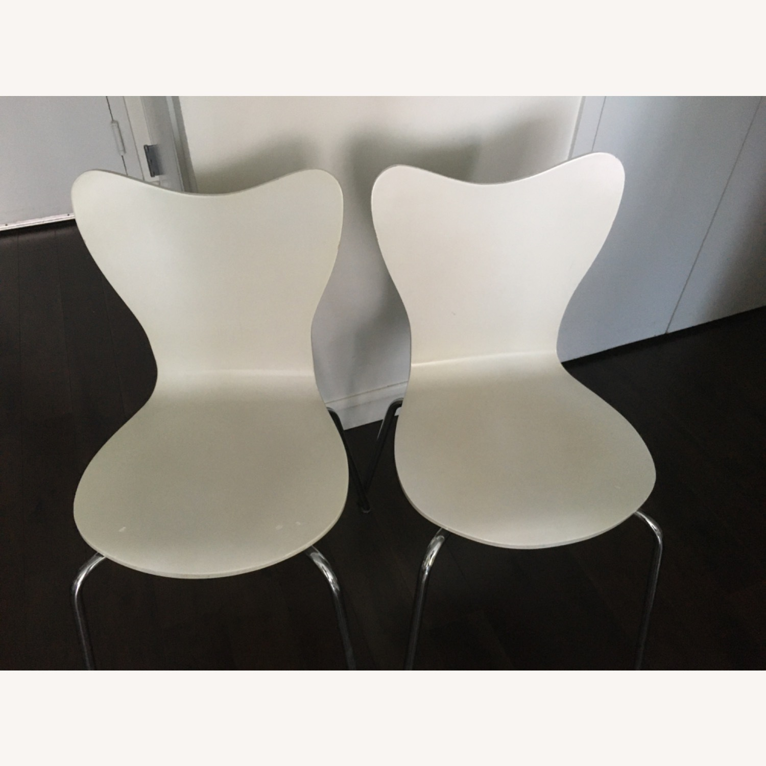 West Elm Scoop Back Dining Chairs - image-3