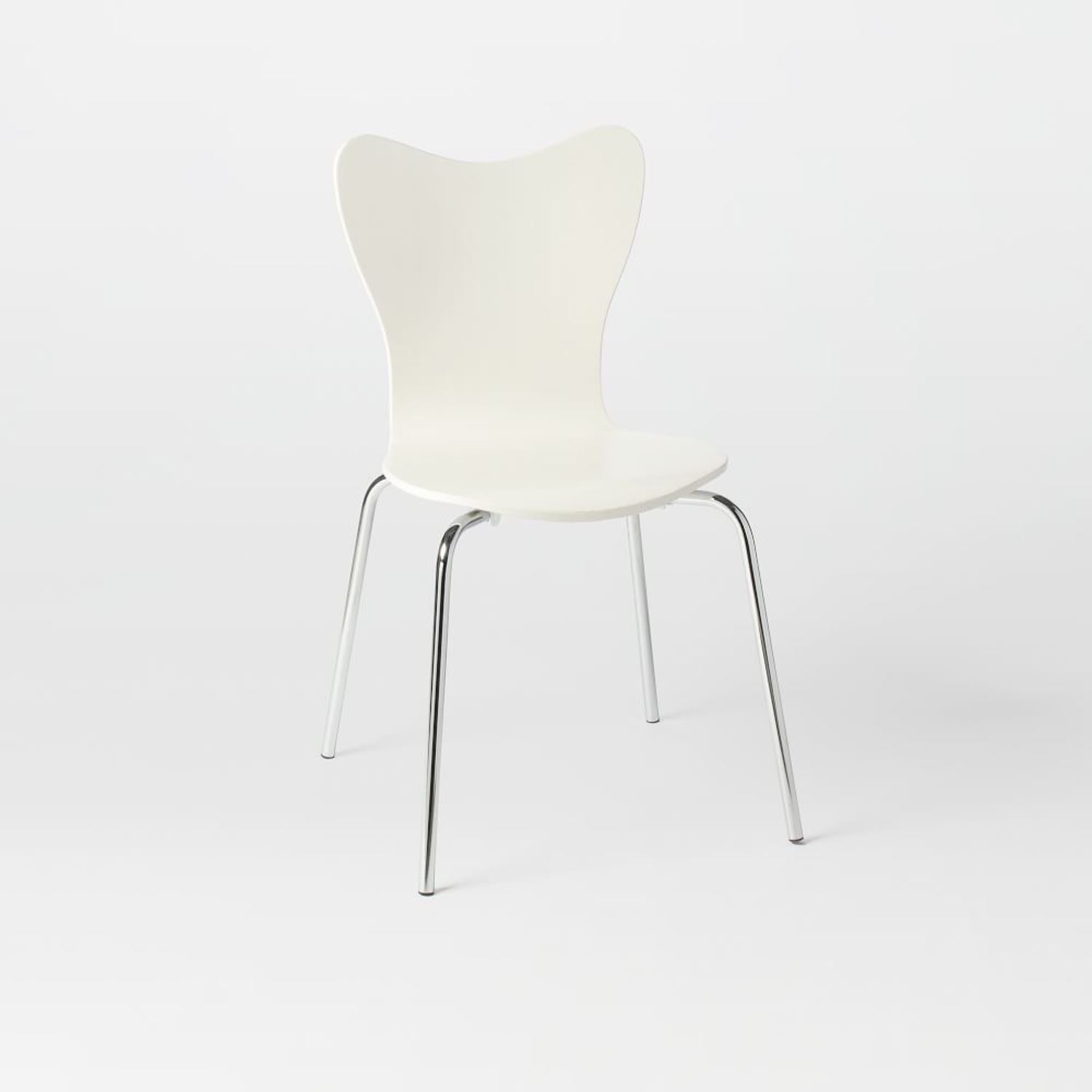 West Elm Scoop Back Dining Chairs - image-6