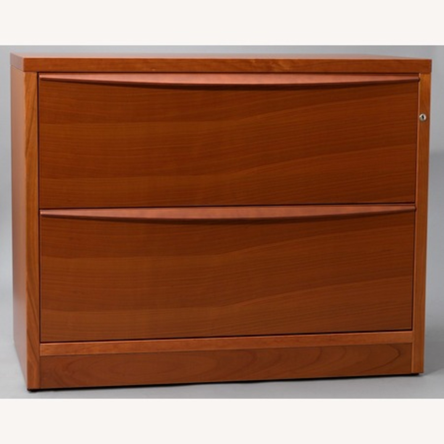 Jesper Office Cherry 2 Drawer Lateral Filing Cabinet - image-3