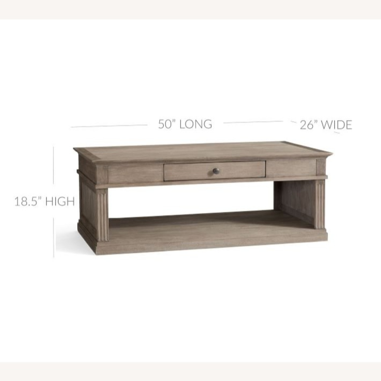 Pottery Barn Livingston Coffee Table - image-2