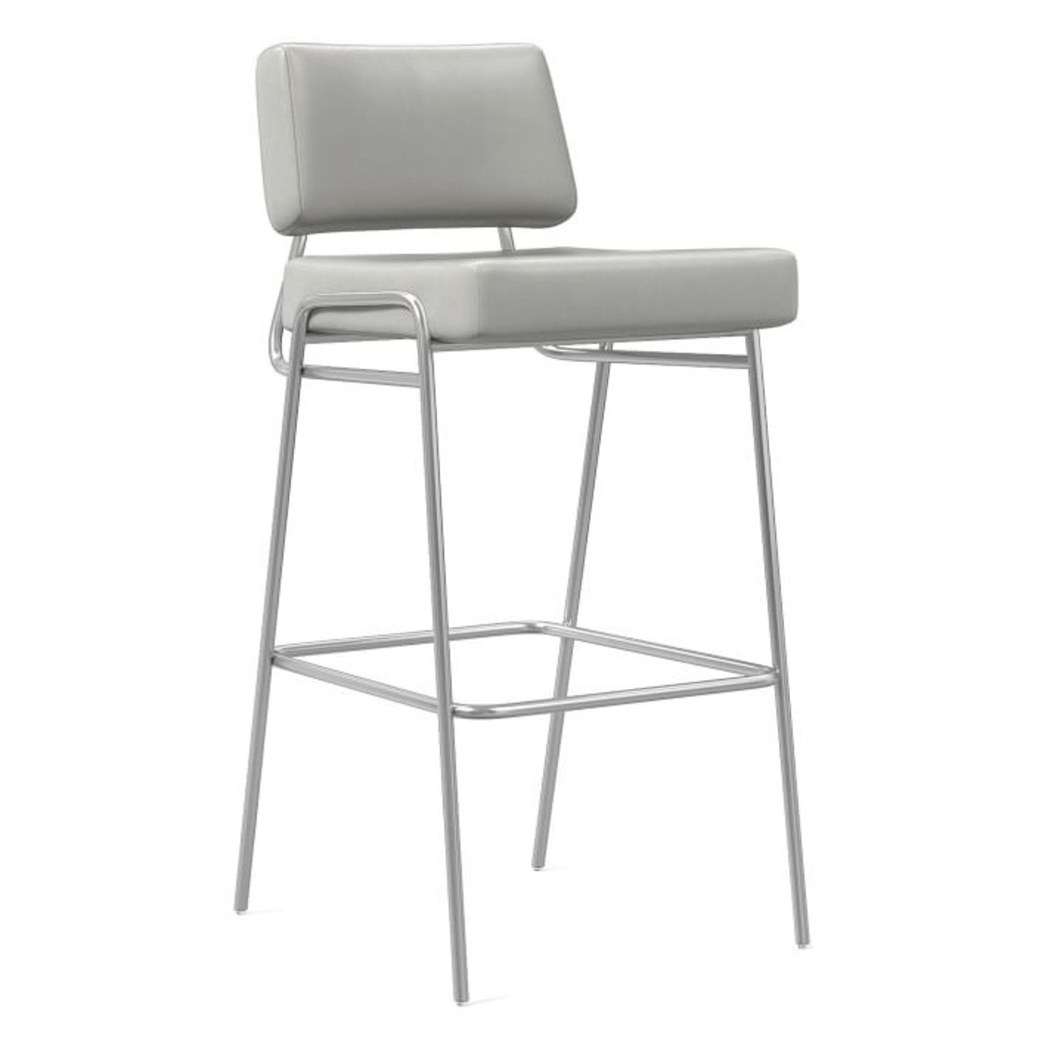 West Elm Wire Frame Bar Stool - image-2