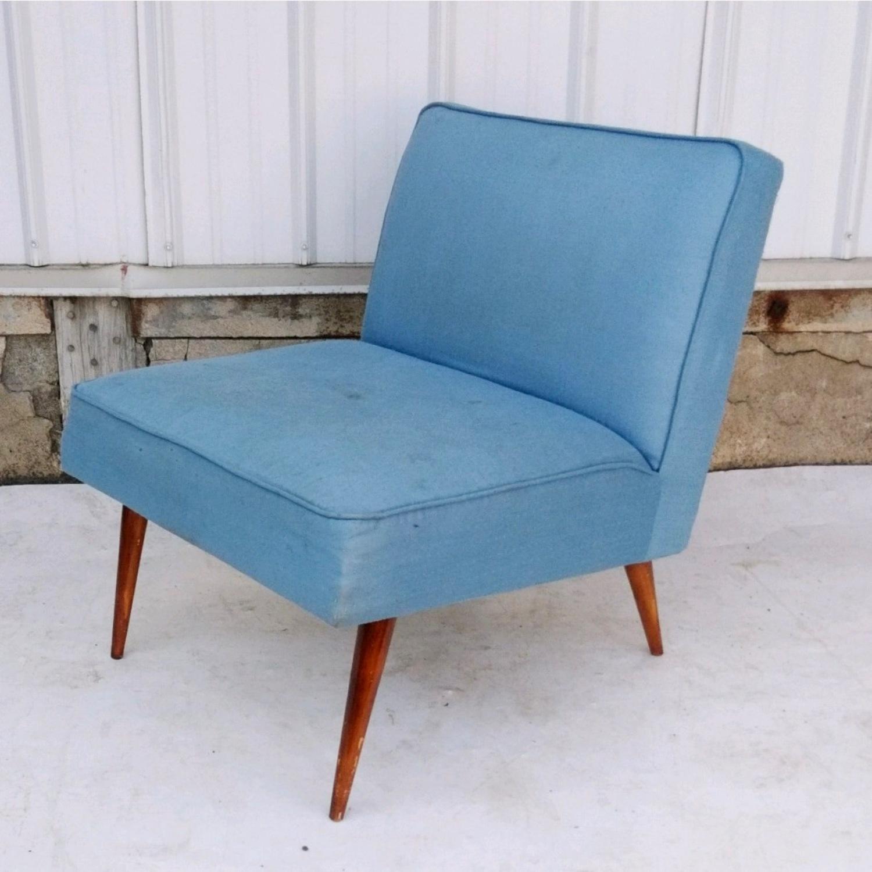 Mid-Century Slipper Chair - image-1