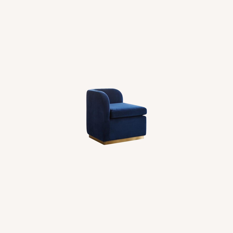 West Elm Roar + Rabbit Tete-a-Tete Chair - image-0