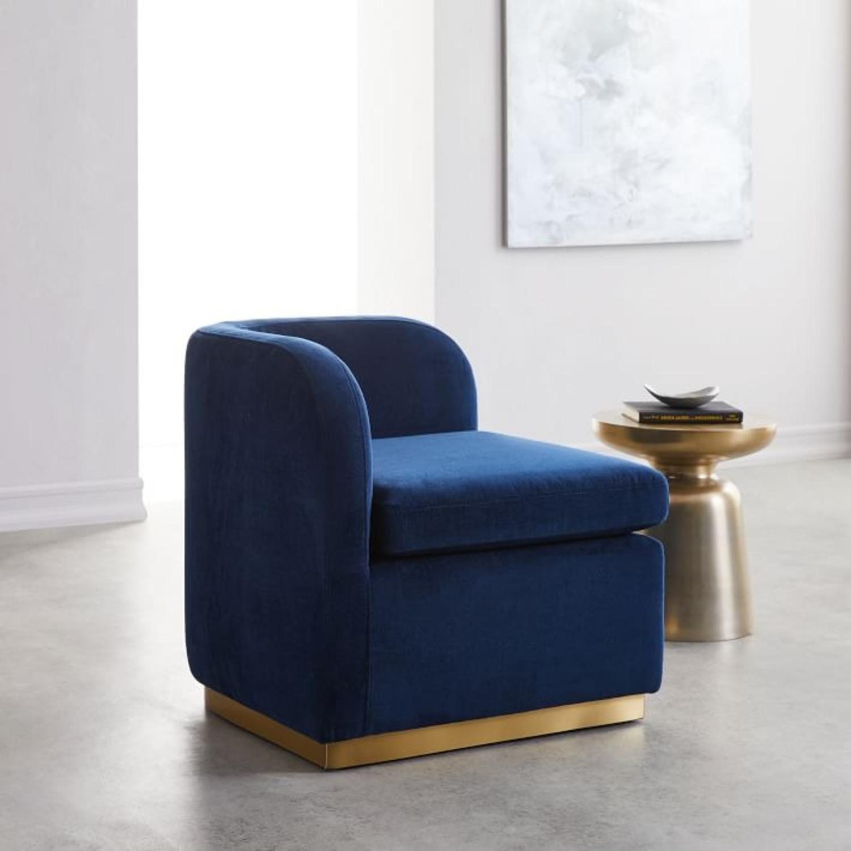 West Elm Roar + Rabbit Tete-a-Tete Chair - image-3