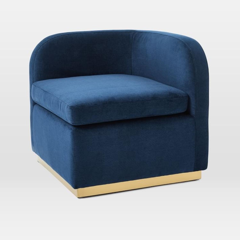 West Elm Roar + Rabbit Tete-a-Tete Chair - image-1