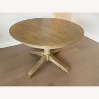 Pottery Barn Owen Table W Leaf Aptdeco