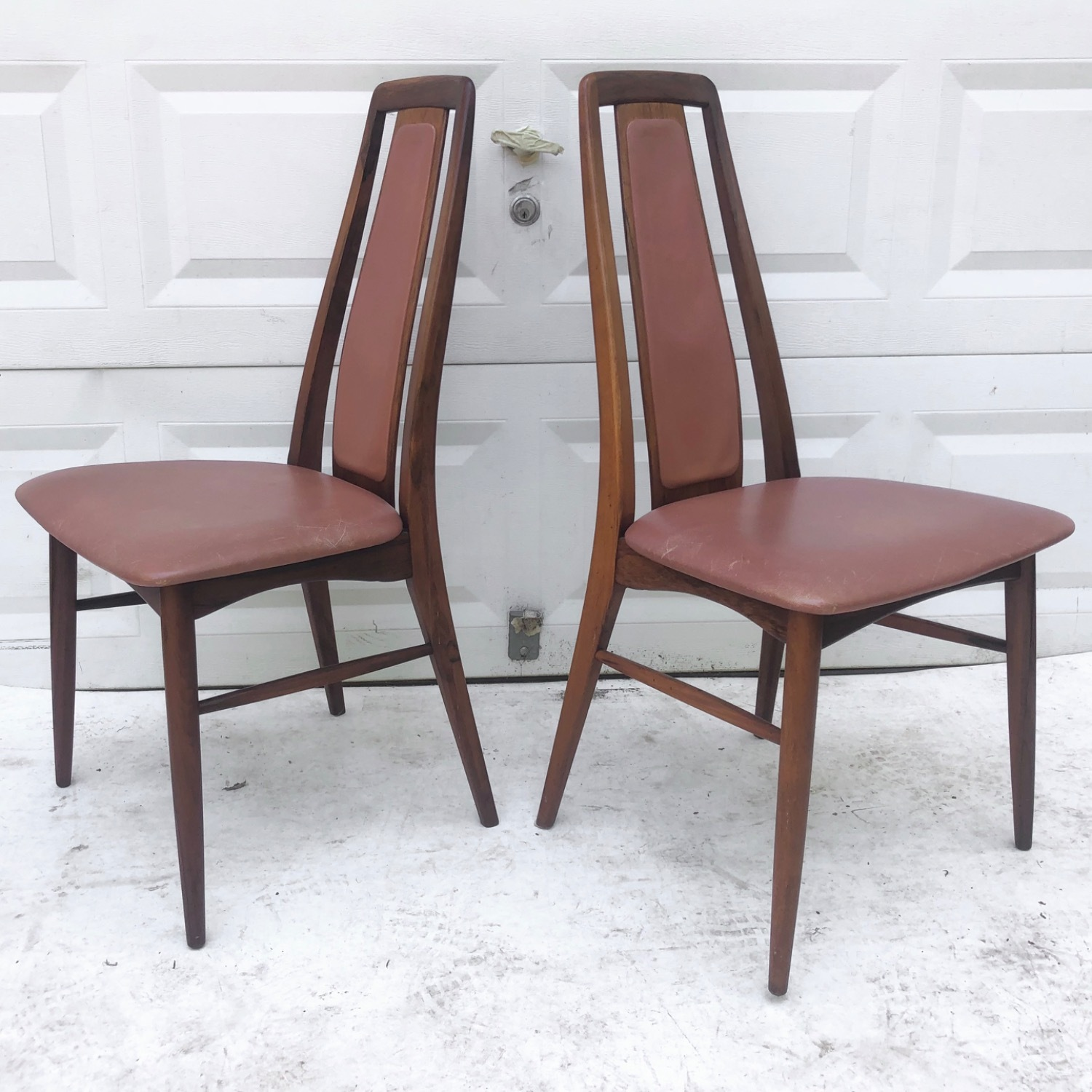 Mid-Century Rosewood Dining Chairs- Set of Six - image-4