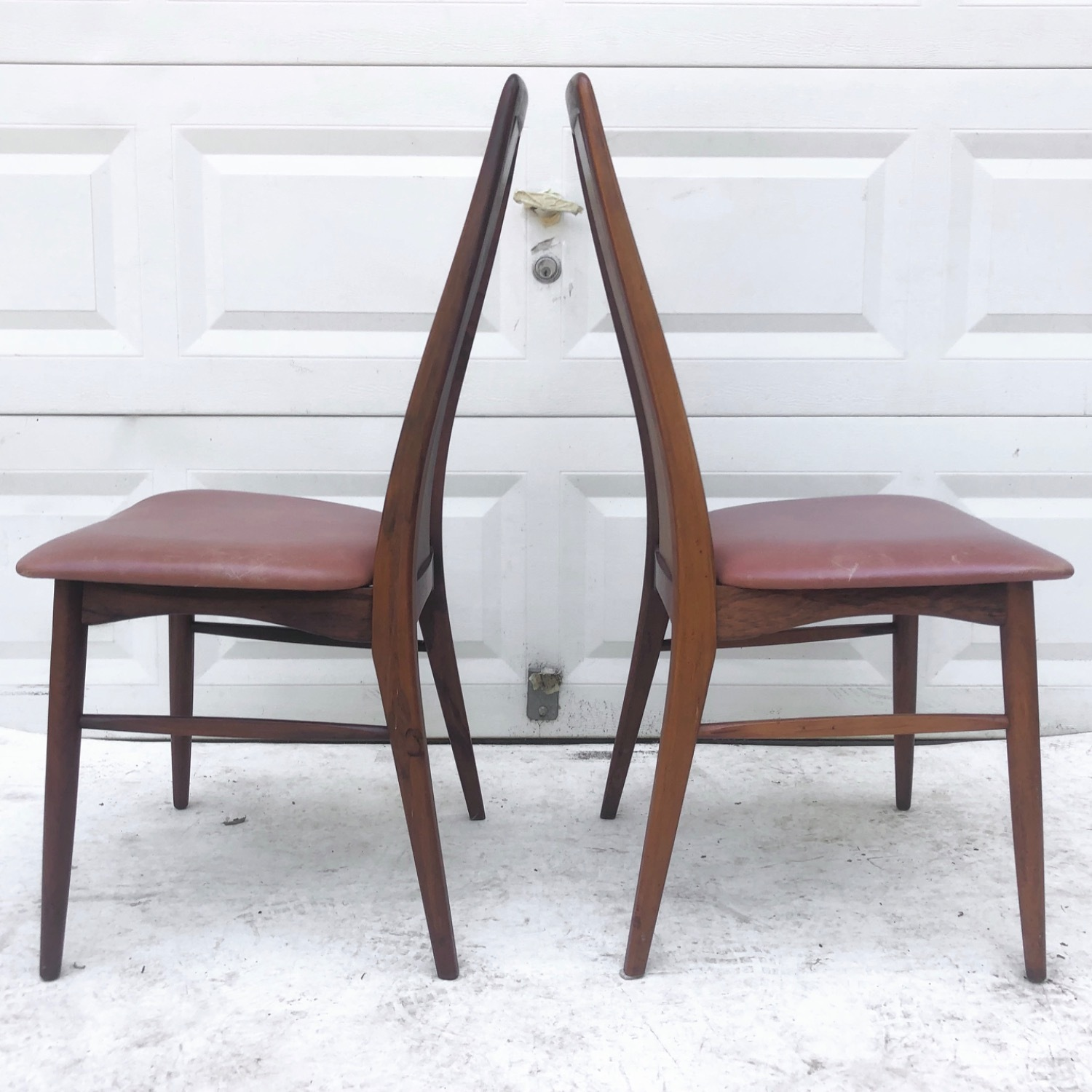 Mid-Century Rosewood Dining Chairs- Set of Six - image-10