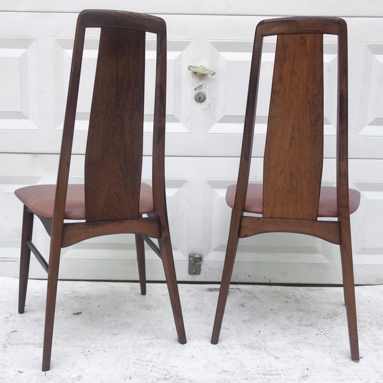 Mid-Century Rosewood Dining Chairs- Set of Six - image-17
