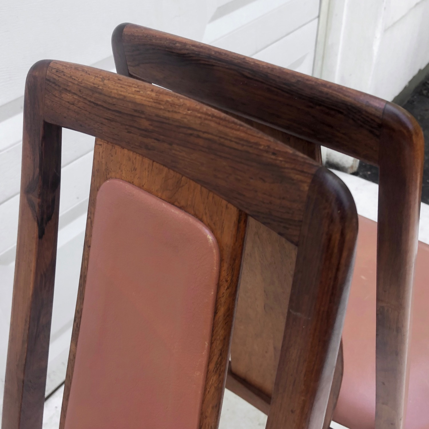 Mid-Century Rosewood Dining Chairs- Set of Six - image-12