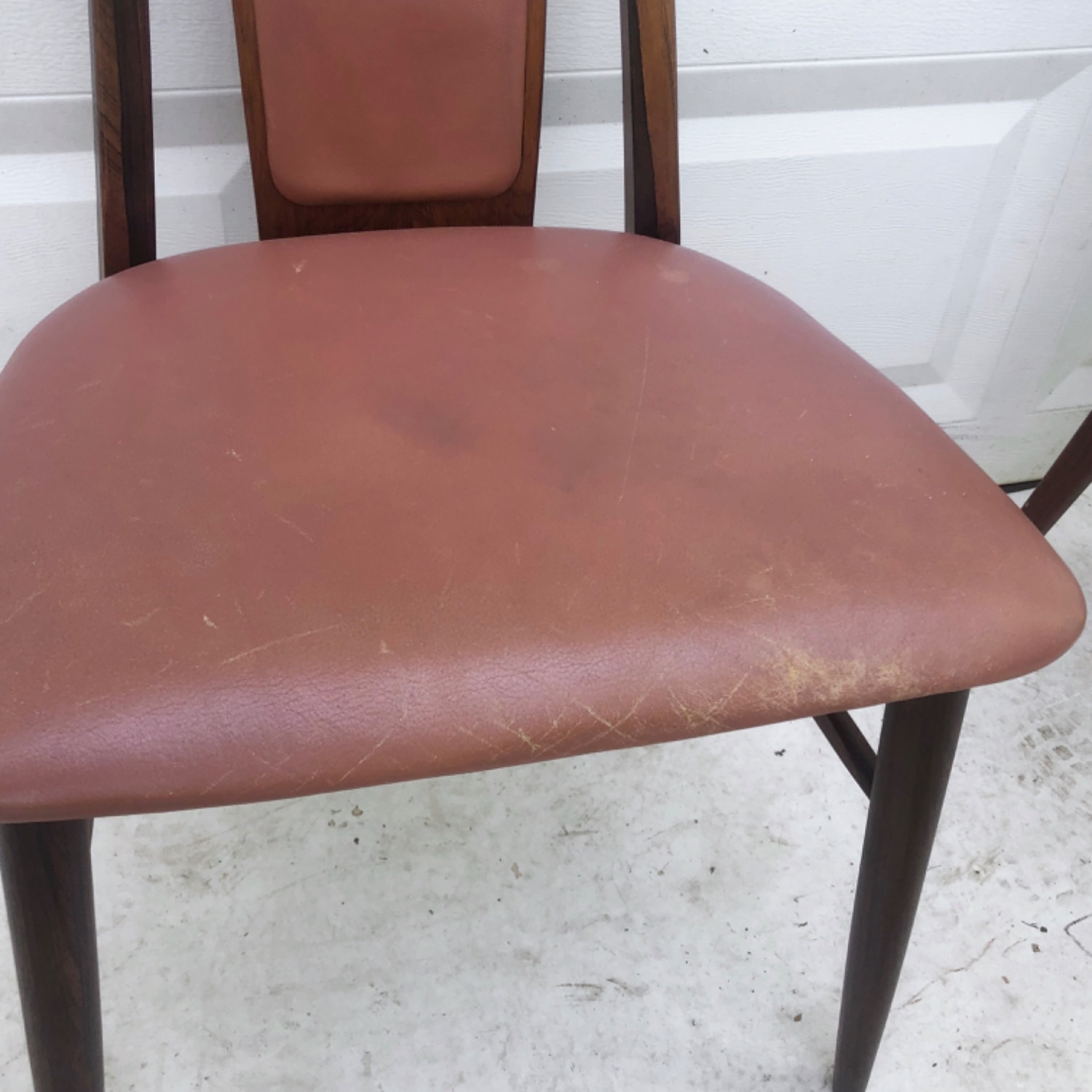 Mid-Century Rosewood Dining Chairs- Set of Six - image-8