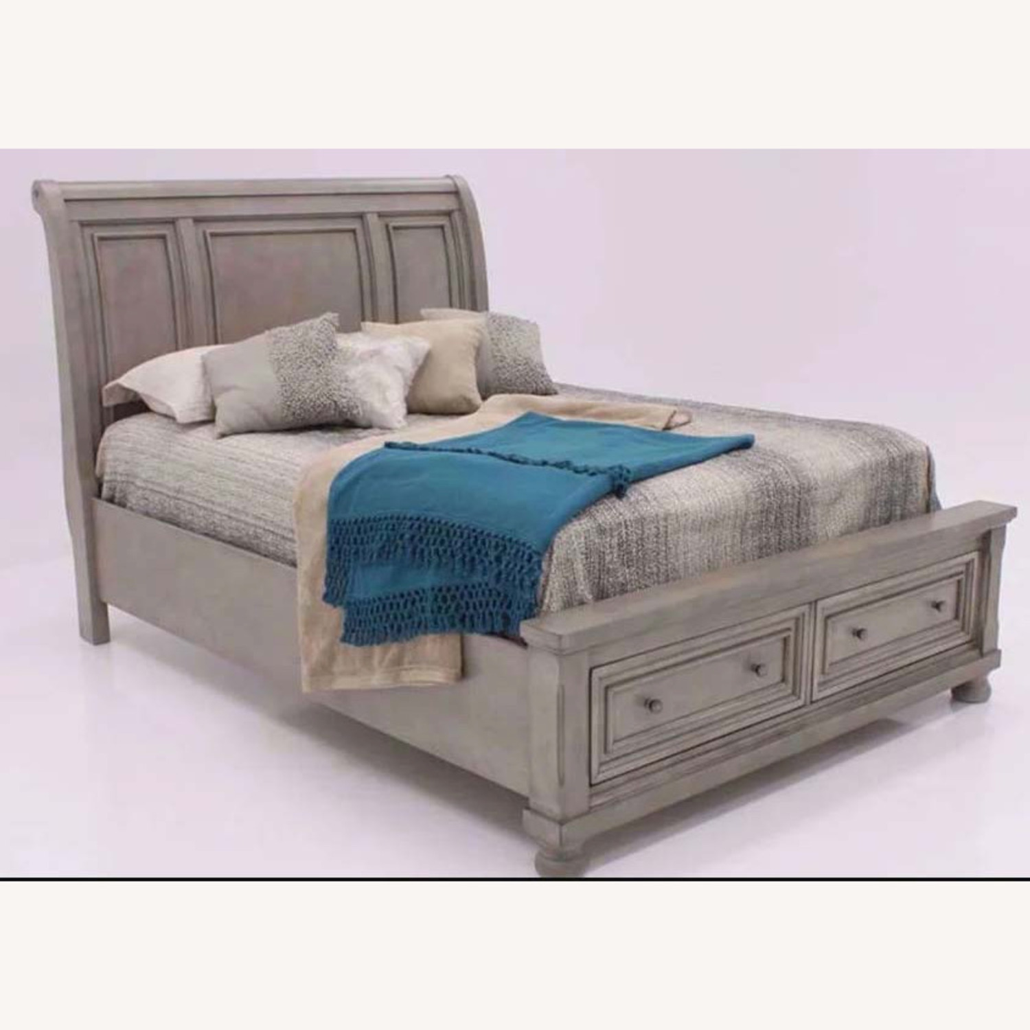 Ashley Furniture King Sleigh Bed with Storage - image-12