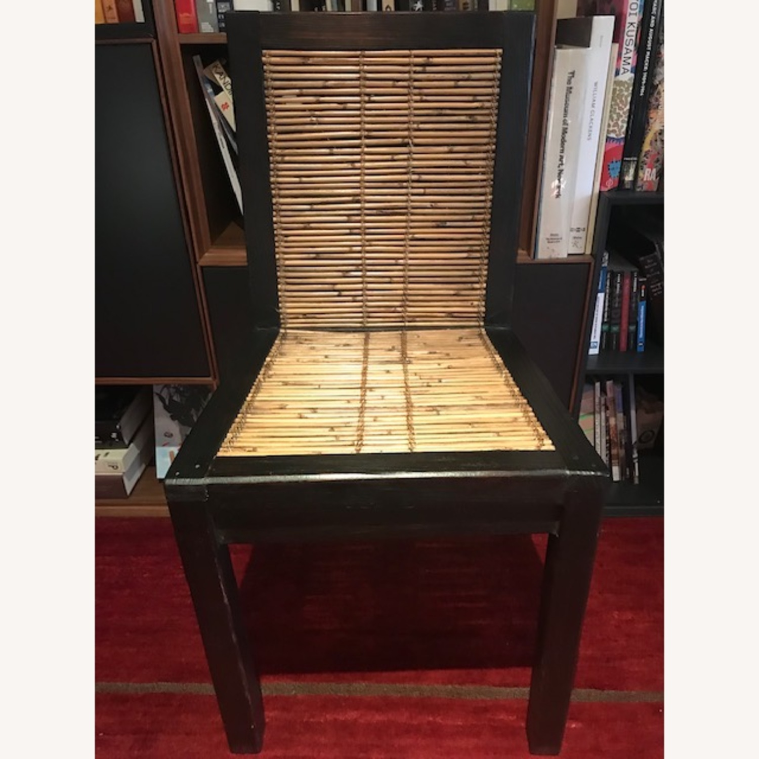 Custom Solid Wood & Bamboo Dining Chairs (6) - image-4