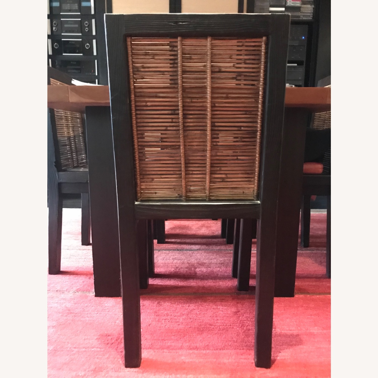 Custom Solid Wood & Bamboo Dining Chairs (6) - image-6
