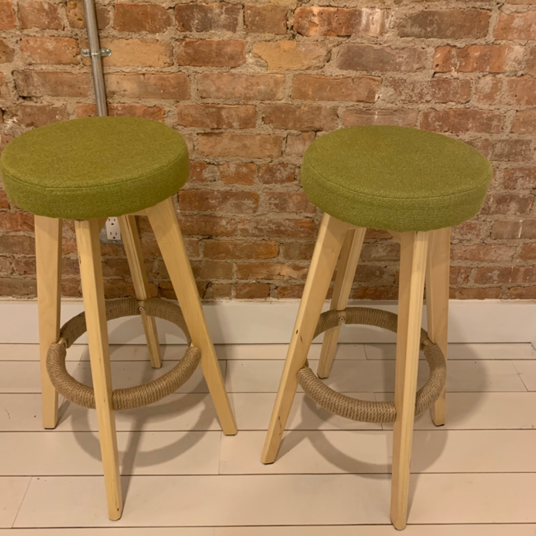 Wood Bar Stools - image-3