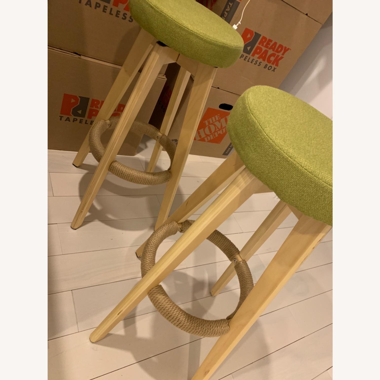 Wood Bar Stools - image-1