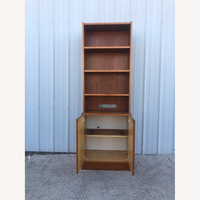 Scandinavian Modern Teak Shelving with Cabinets - image-9
