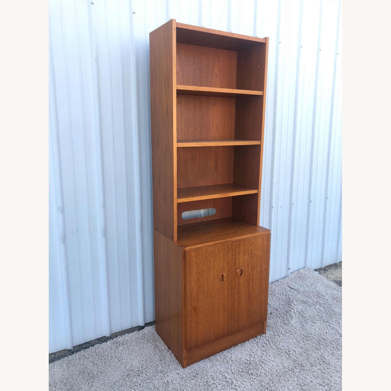Scandinavian Modern Teak Shelving with Cabinets - image-4