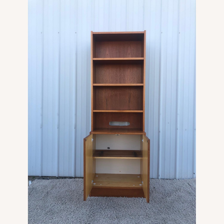 Scandinavian Modern Teak Shelving with Cabinets - image-10