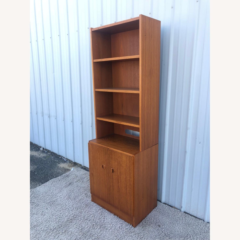 Scandinavian Modern Teak Shelving with Cabinets - image-2