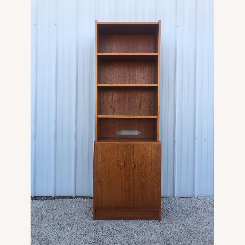 Scandinavian Modern Teak Shelving with Cabinets - image-3