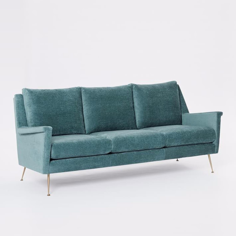 West Elm Carlo Mid-Century Sofa - image-6