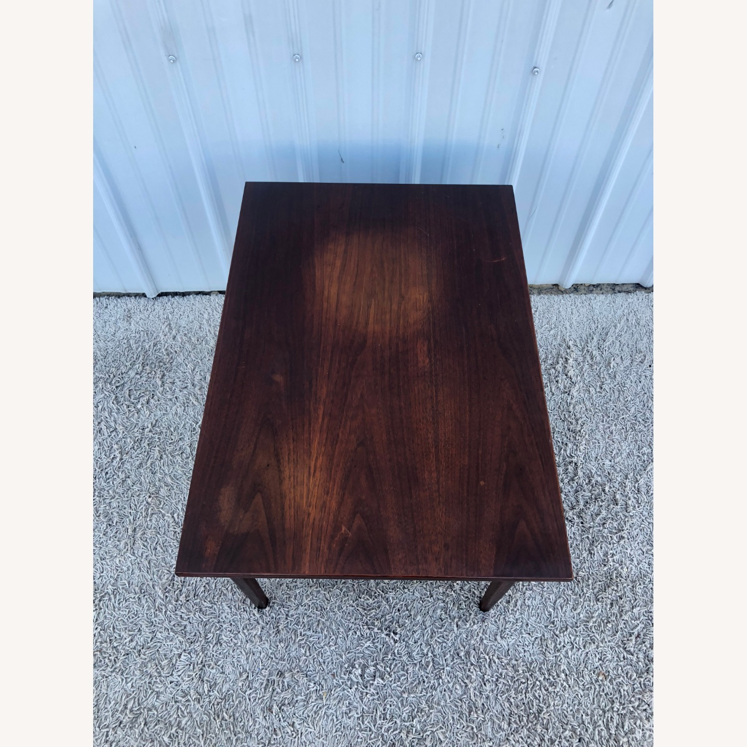 Mid Century Two Drawer End Table - image-4