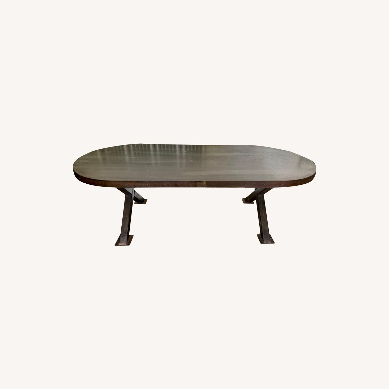 Unique Industrial Dining Table - image-0