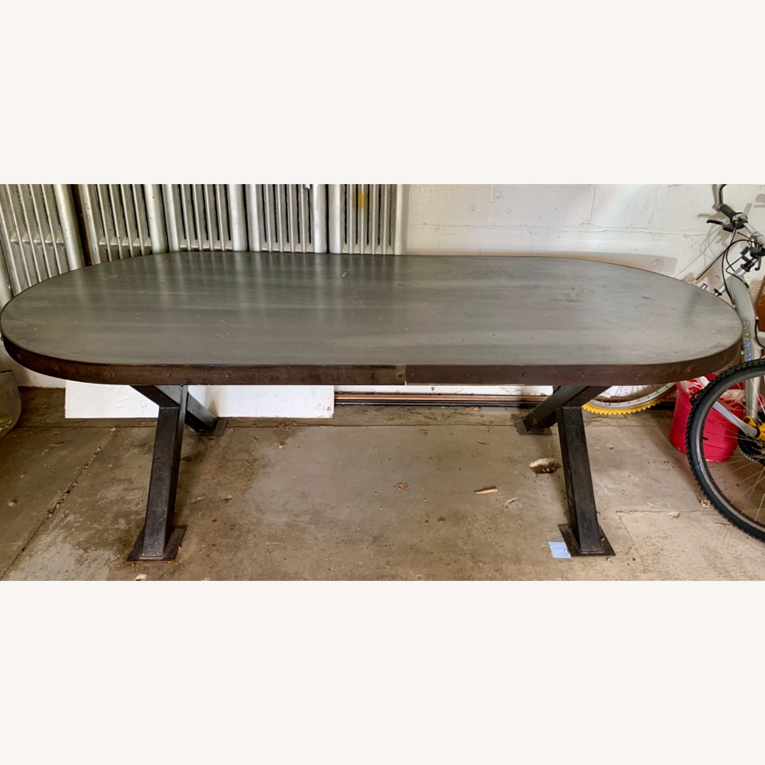 Unique Industrial Dining Table - image-1
