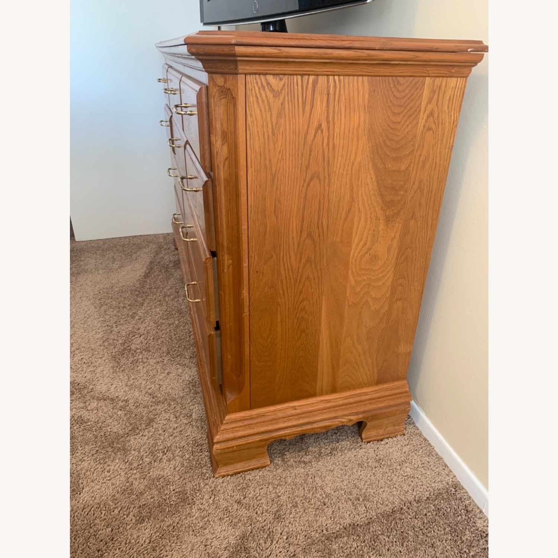 Sturdy Light Brown Dresser - image-3