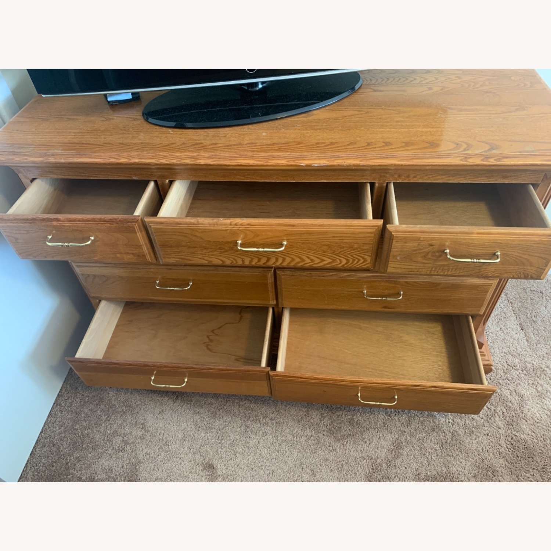 Sturdy Light Brown Dresser - image-5