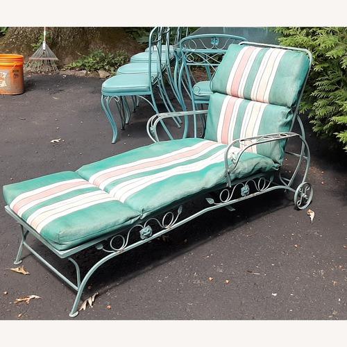 Used Woodard Patio Chaise Lounge for sale on AptDeco