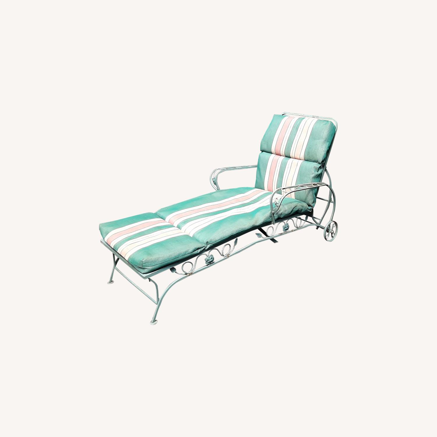 Woodard Patio Chaise Lounge - image-0