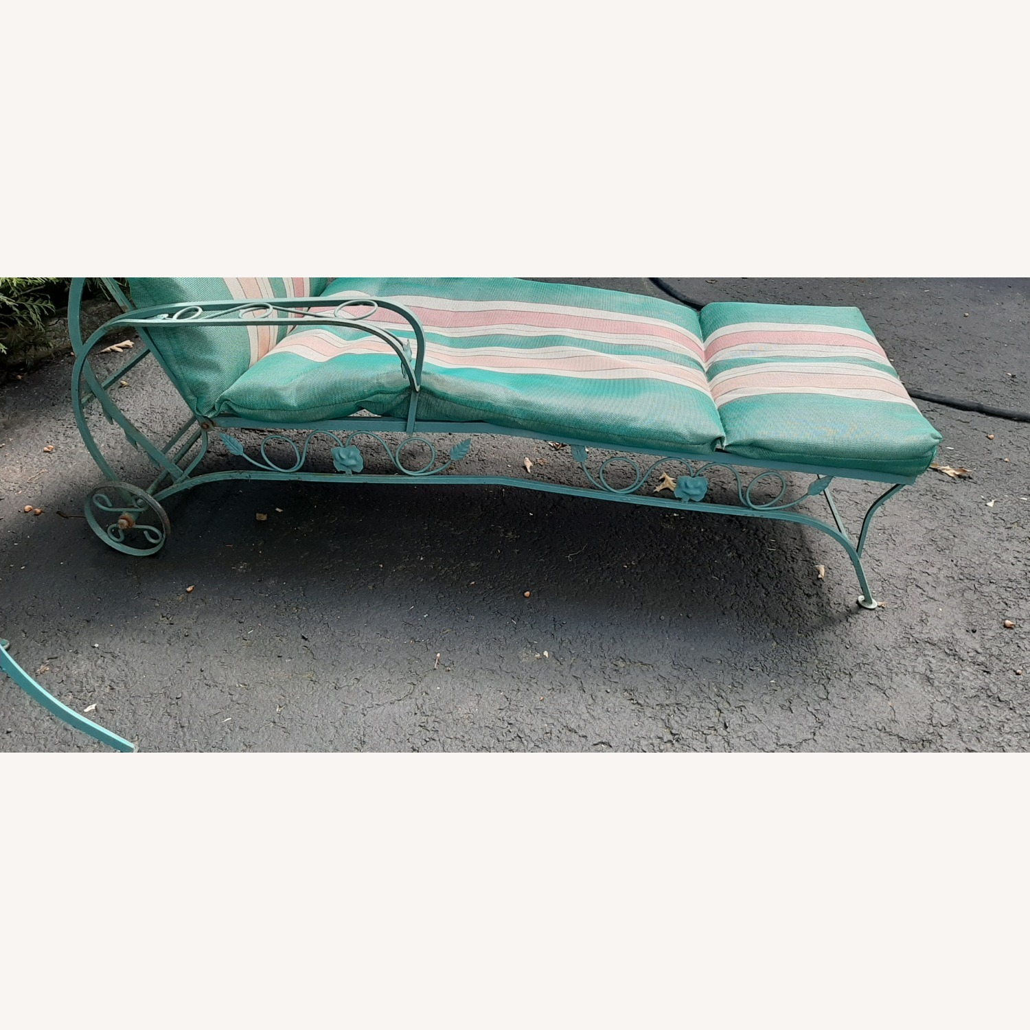 Woodard Patio Chaise Lounge - image-3