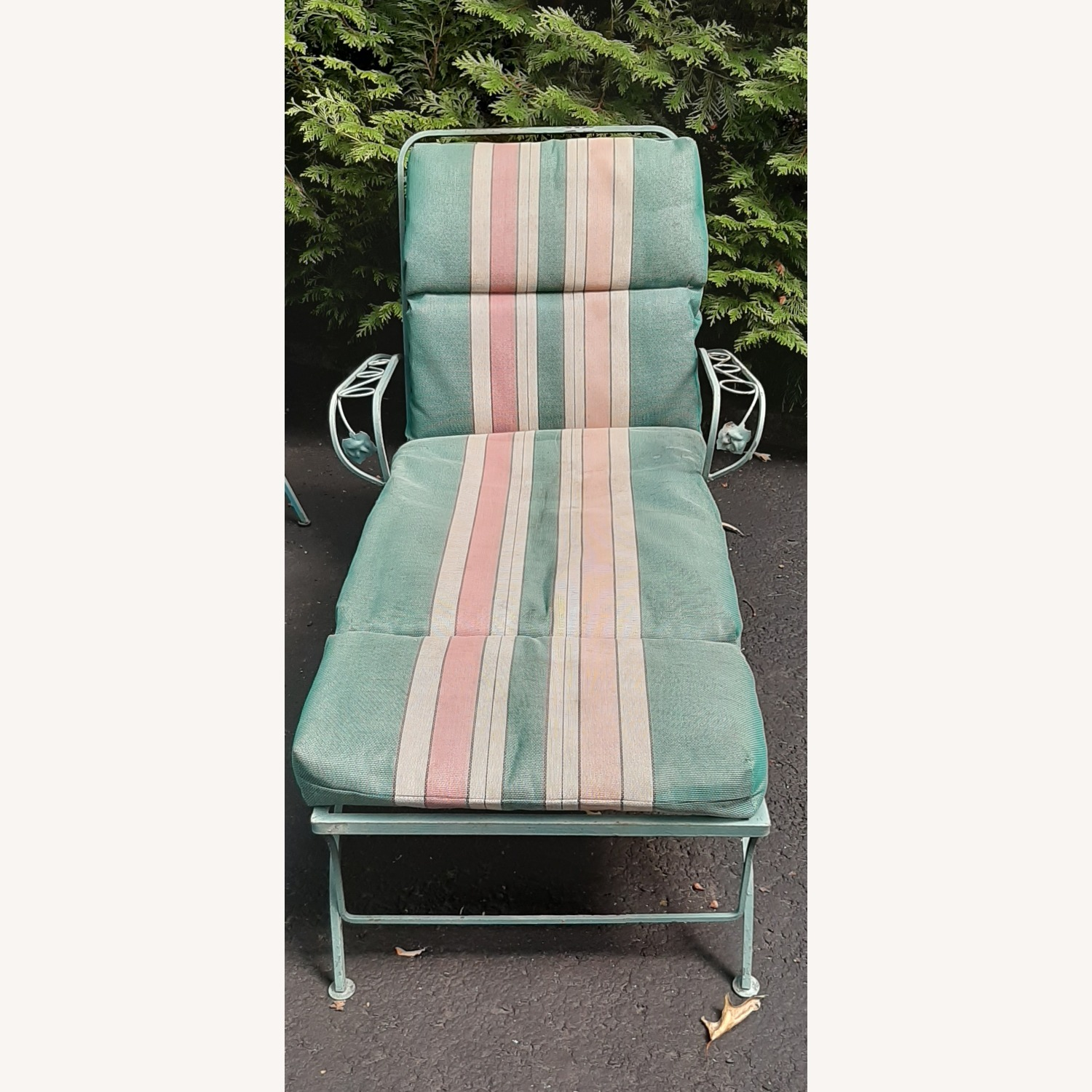 Woodard Patio Chaise Lounge - image-2