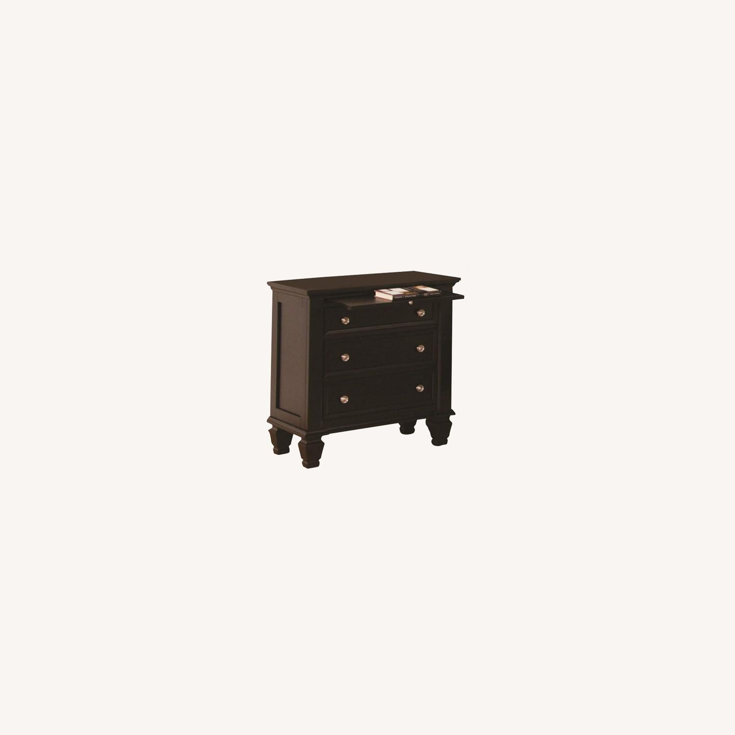Versatile Nightstand Finished In Cappuccino - image-3