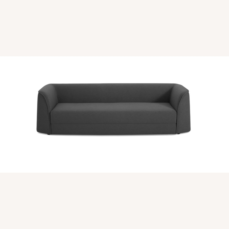 Blu Dot Modern Charcoal Sofa - image-0
