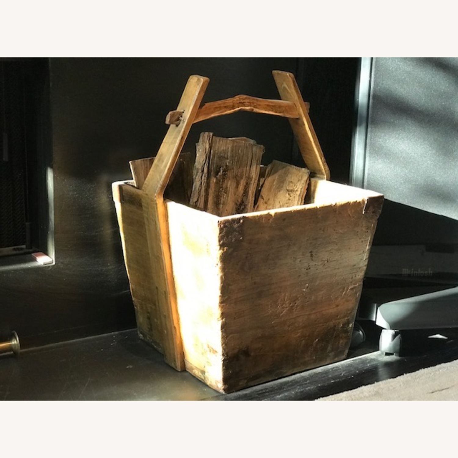 Antique Chinese Wood Buckets - image-2