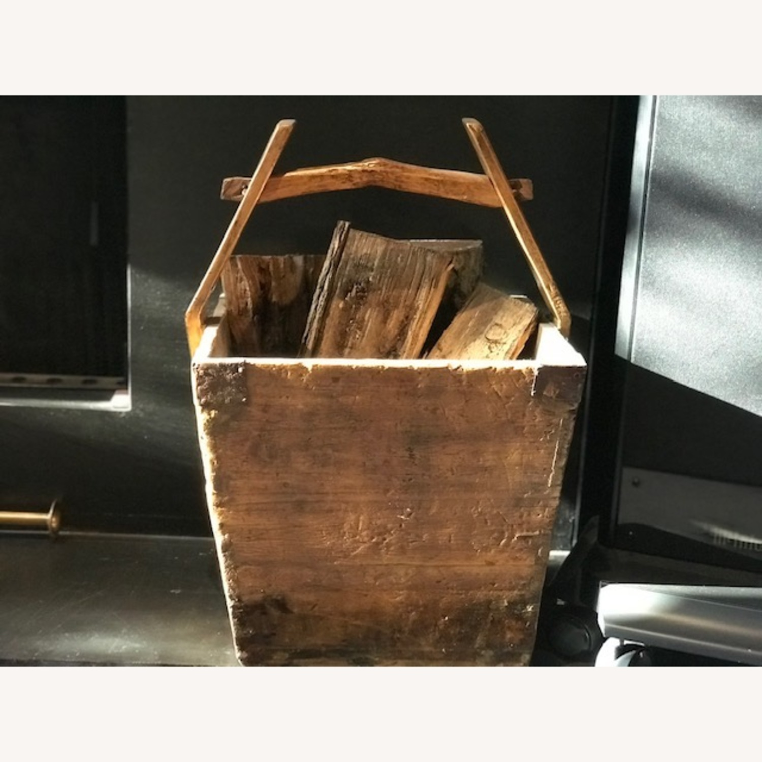 Antique Chinese Wood Buckets - image-1