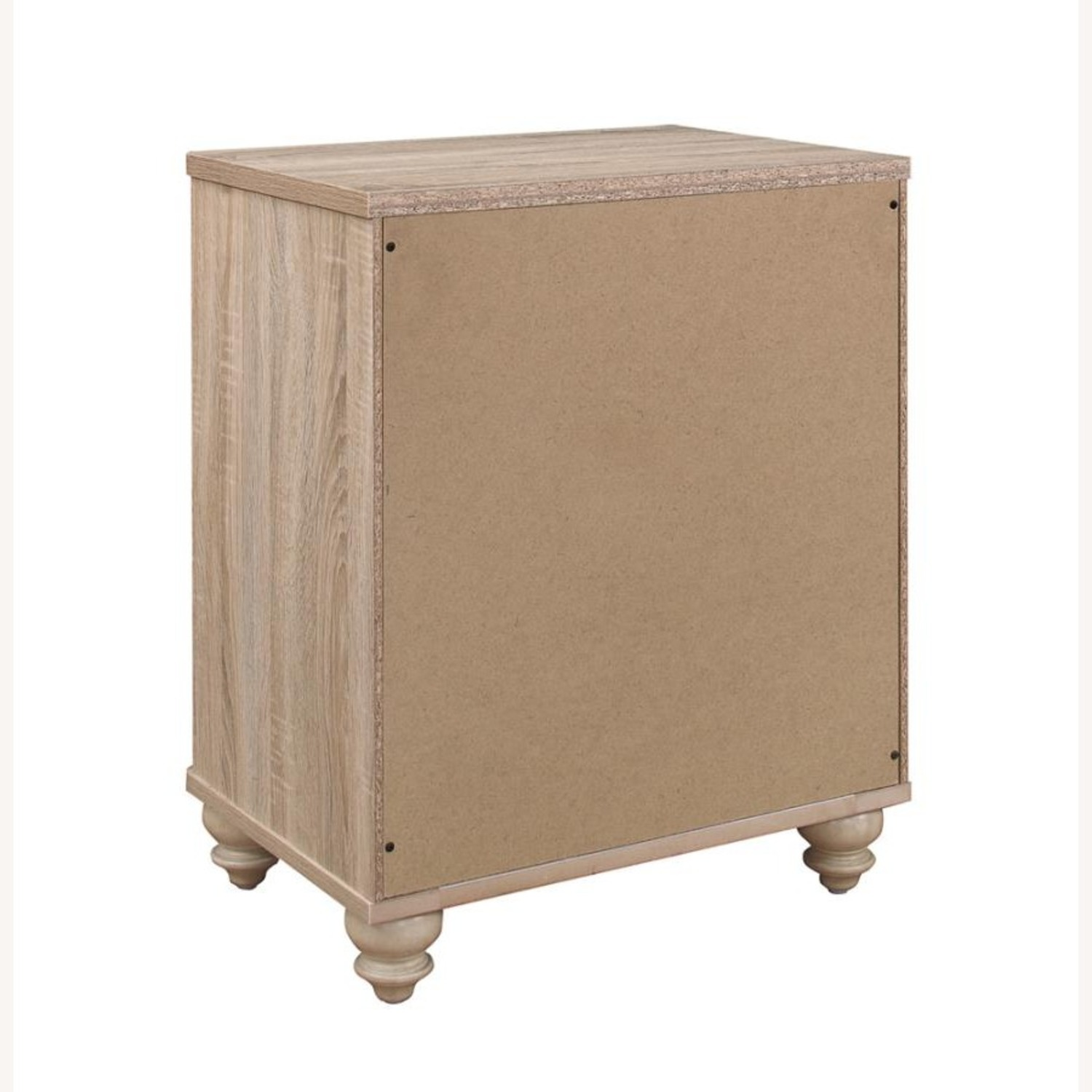 3-Drawer Nightstand In Natural Oak Finish - image-2