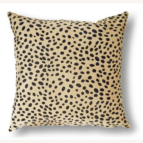 Used One Kings Lane: Le-Coterie Cheetah Pillow for sale on AptDeco