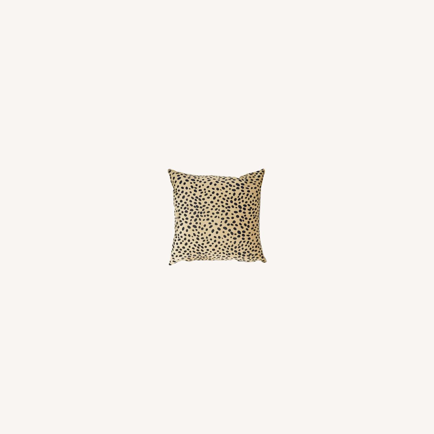 One Kings Lane: Le-Coterie Cheetah Pillow - image-0